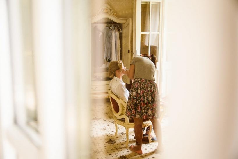 Przygotowania na ślub w Pałacu Jastrzębie