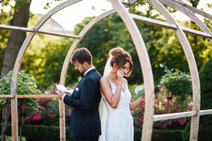 Sesja ślubna, pisanie listów