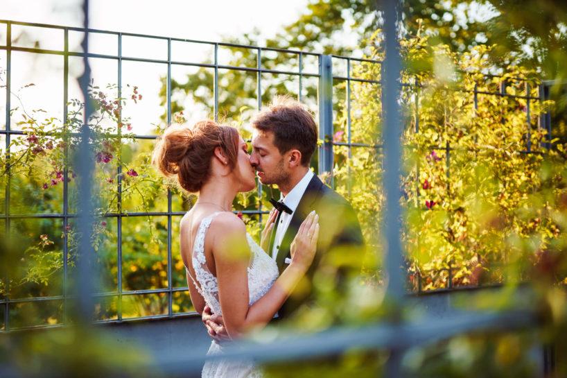 Sesja ślubna w Pałacu Romantycznym
