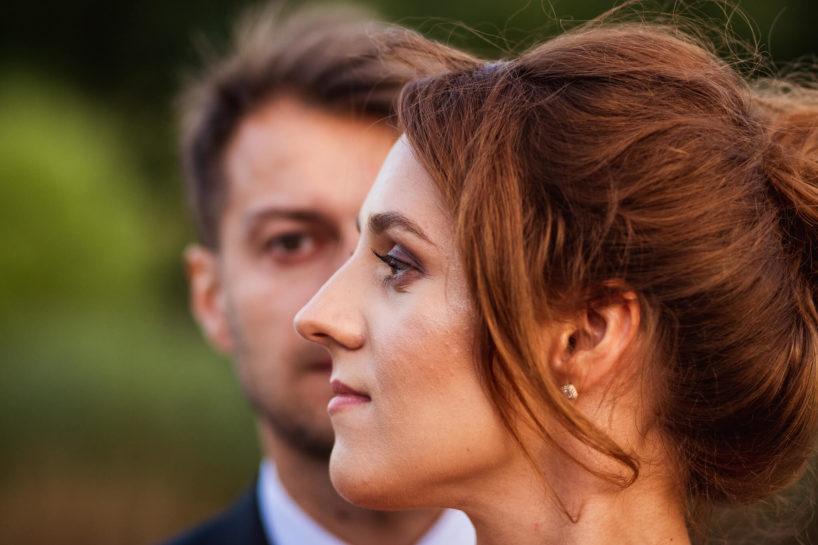 Sesja ślubna, romantyczna