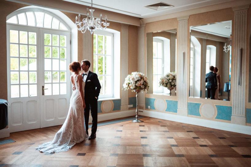 Sesja ślubna w Pałacu Romantycznym, Strzelcy Wyborowi